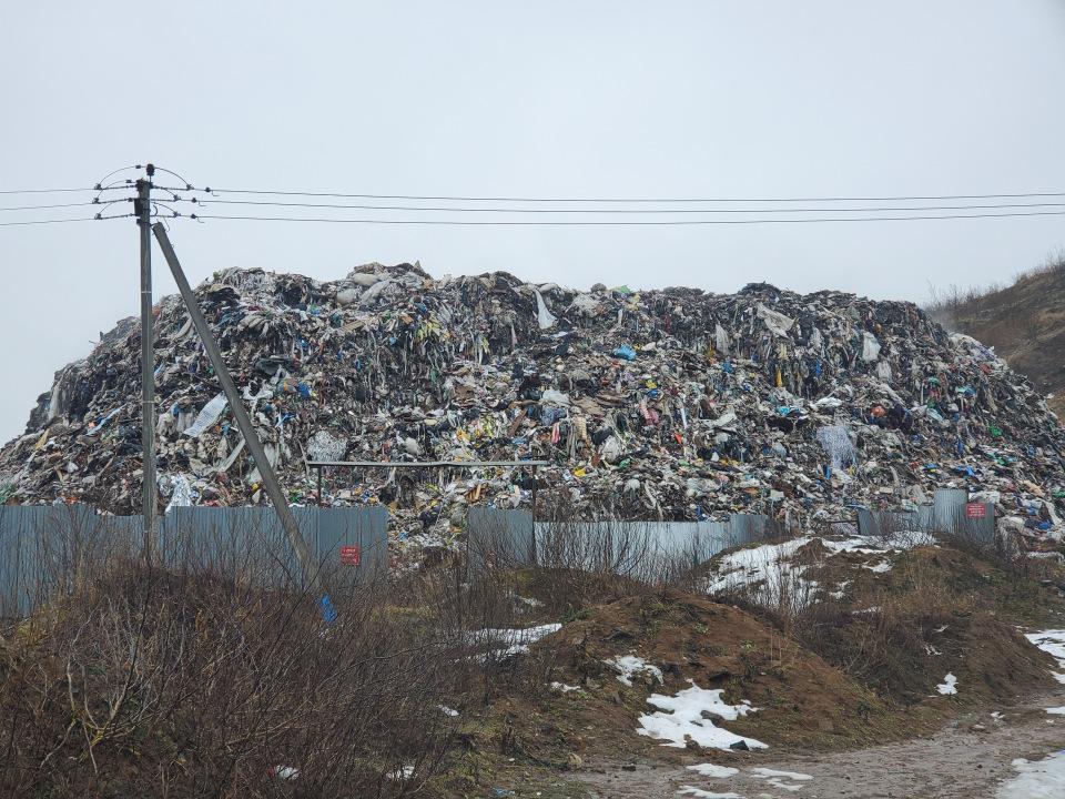 мусорная свалка в туле пирамида показать фото нашёл