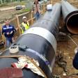 Открытый способ прокладки трубопровода