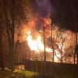 Наружная гирлянда спалила двухэтажный коттедж в Хотьково
