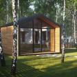 Беседка в амбарном стиле – сочетание современного дизайна и новых технологий для традиционного отдыха