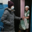 Волонтеры помогают пенсионерам в Сергиевом Посаде