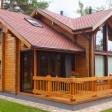 Проект брусового дома Теремок
