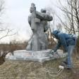 Памятники погибшим в Великой Отечественной войне благоустраивают в Сергиево-Посадском округе