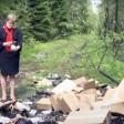 Свалка лекарств обнаружена в лесу у границы округа