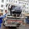 Регоператор приступил к дезинфекции мусорных контейнеров