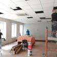 В библиотеке большой ремонт, открытие осенью