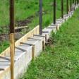 Ставим забор на участок. Какой бетон выбрать для фундамента?