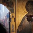 Наместник Лавры совершил литургию в праздник отдания Пасхи