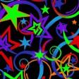 Флуоресцентный ковролин для индустрии развлечений