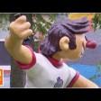 Герои из мультфильмов о спорте появились в 3D в Сергиевом Посаде
