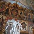 Наместник Лавры совершил заупокойные богослужения Троицкой родительской субботы у могил усопшей братии