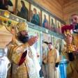 В четвертую неделю по Пятидесятнице наместник обители преподобного Сергия молитвенно почтил память священномученика Евсевия, епископа Самосатского