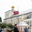 Участники всероссийской патриотической акции посетили обитель Преподобного Сергия