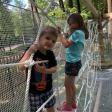 На «Скитских прудах» открывается верёвочный парк