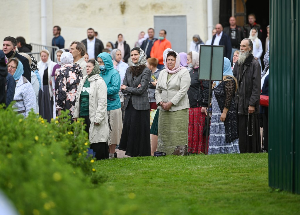 Патриаршее служение в Троице-Сергиевой лавре