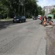Ремонт дороги на ул. Дружбы продолжается