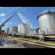 На Сергиево-Посадской нефтебазе прошли учения пожарных