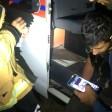 Подмосковные спасатели оказали помощь людям из авто, которое протаранил локомотив