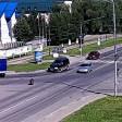 В Хотьково у автомобиля укатилось колесо
