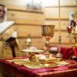Наместник Лавры совершил Божественную литургию в храме великомученика Георгия Победоносца