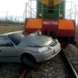 Пострадали при столкновении с локомотивом