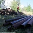 Аварийные работы на сетях горячего водоснабжения проводятся на Новоугличском шоссе в Сергиевом Посаде