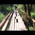 Проход закрыт! Пешеходный мост между Островком и Скобянкой на ремонте до сентября