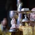 В обители преподобного Сергия совершили богослужения 8-й Недели по Пятидесятнице