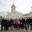 Студенты Академии госслужбы посетили Троицкую обитель