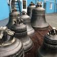 На Воскресенском подворье освятили новые колокола