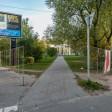 Бульвар Кузнецова начали огораживать сетчатым забором
