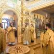 Наместник обители возглавил торжества престольного праздника на Московском подворье Лавры