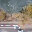 Фекалии смыли тротуар в Скитские пруды