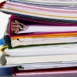 Stack of Documents --- Image by  Royalty-Free/Corbis
