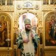 Архиепископ Феогност и епископ Фома совершили Литургию в день памяти преподобного Никона Радонежского