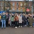 Студенты аграрного колледжа вышли защитить учебное заведение