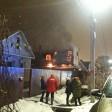 В результате взрыва газового котла на Кировке сгорел дом