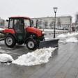 В Сергиево-Посадском округе устраняют последствия снегопада