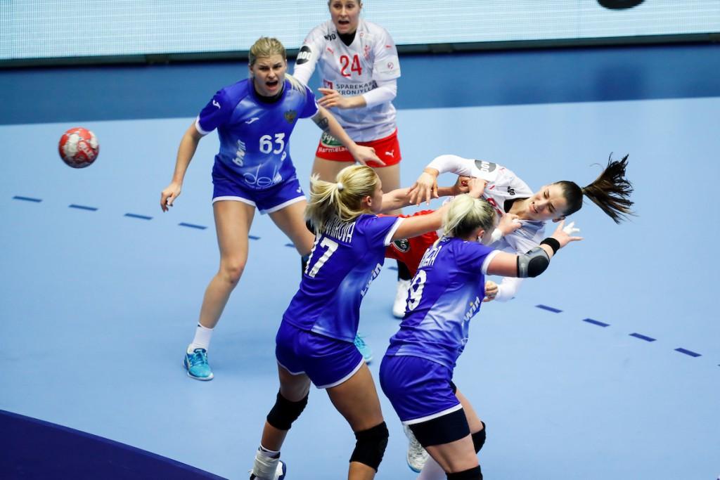 during the Women's EHF EURO 2020 Norway, Denmark - Group I, Denmark vs Russia, Jyske Bank Arena, Herning Denmark 15.12.2020, Mandatory Credit  Uros Hocevar / kolektiff