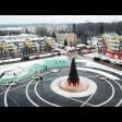 В Пересвете завершают капремонт домов вокруг площади Пухова