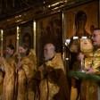 В обители преподобного Сергия совершили воскресные богослужения