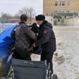 В Сергиевом Посаде сотрудник УМВД помог женщине, получившей травму