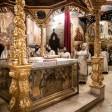 В обители преподобного Сергия прошли воскресные богослужения