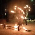 Фаер-шоу завершило рождественский фестиваль в Сергиевом Посаде