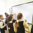 В школе в Селкове появился инновационный флипчарт