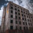 Недостроенная больница в Хотьково