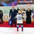 Хоккеистов награждали Герои