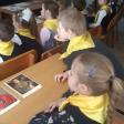 Урок Гагарина провели восьмиклассники 18-й школы для младших товарищей
