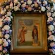 Лавра молитвенно празднует Благовещение Пресвятой Богородицы