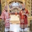 В Неделю святого апостола Фомы наместник Лавры совершил Божественную литургию